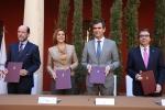 Firma del protocolo para ubicar el Campus Universitario de Guadalajara